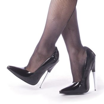 Fetish Heels SCREAM-01 - Patent Black