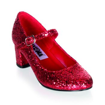 Mary Janes SCHOOLGIRL-50G - Red