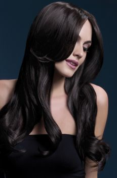 Longhair Wig KHLOE - Dark Brown*