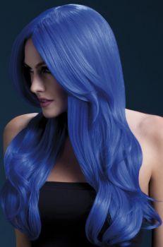 Longhair Wig KHLOE - Neon Blue
