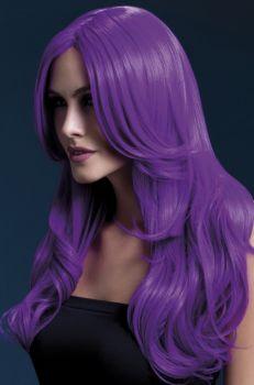 Longhair Wig KHLOE - Neon Purple