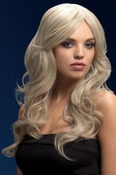 Longhair Wig NICOLE - Silver Blonde*