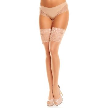 Hold-Up Stockings COMFORT 20 - Teint*