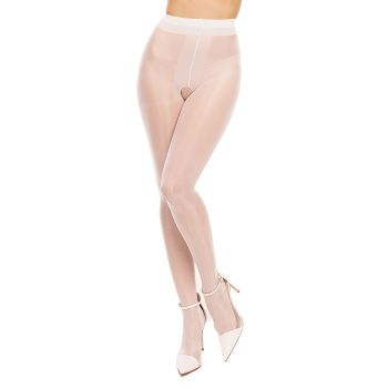 Tights OUVERT 20 - White