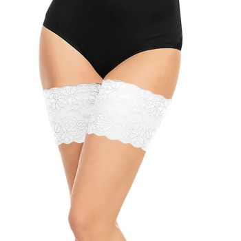 Thigh Bands Anti Chafing - White*