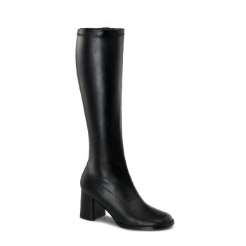 Retro Boots GOGO-300 - PU black