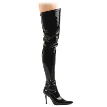Overknee Boots LUST-3000 - Patent black