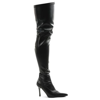 Overknee Boots LUST-3000 - PU black