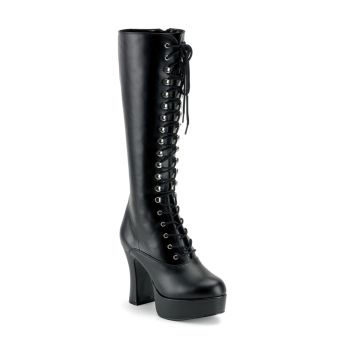 Knee Boot EXOTICA-2020 - PU Black
