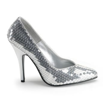 Pumps SEDUCE-420SQ - Sequins Silver