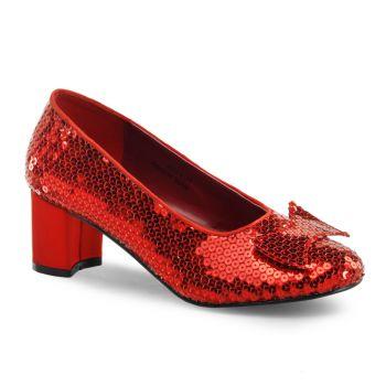 Sequins Pumps DOROTHY-01 - Red