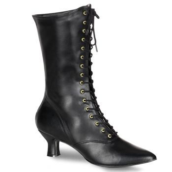 Ankle Boots VICTORIAN-120 - Black