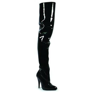 Overknee Boot SEDUCE-3010 - Patent Black