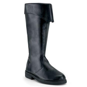 Pirate Boots CAPTAIN-105 - Black