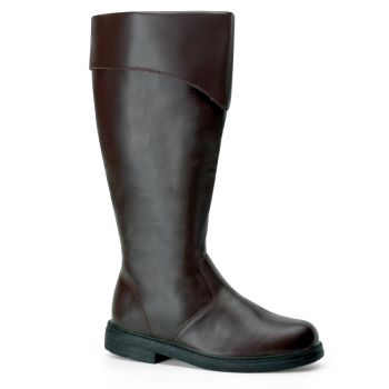 Pirate Boots CAPTAIN-105 - Brown