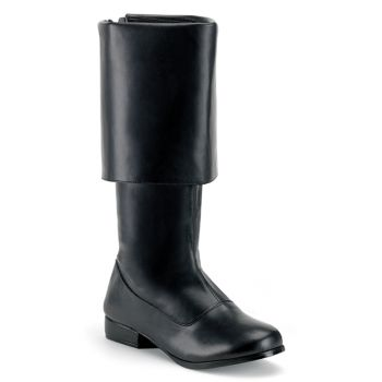 Pirate Boots PIRATE-100 - Black