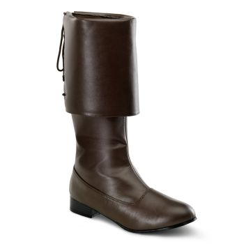 Pirate Boots PIRATE-100 - Brown