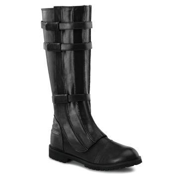 Men Boots WALKER-130 - Black