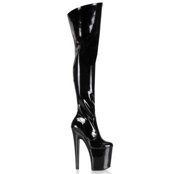 Extreme Platform Heels XTREME-3010 - Patent Black