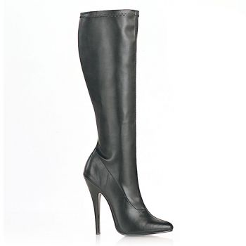 Extreme High Heels DOMINA-2000 : PU Black*