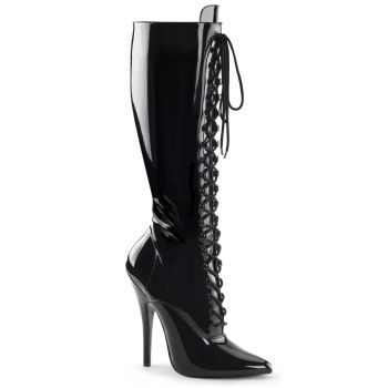 Extreme High Heels DOMINA-2020 - Patent Black