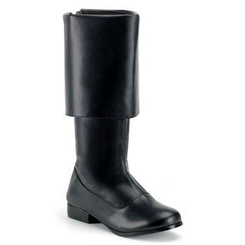 Pirate Boots PIRATE-100 : Black*
