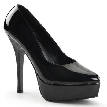 Platform pumps INDULGE-520 : Patent Black*