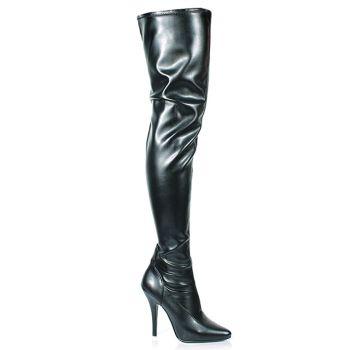 Overknee Boot SEDUCE-3000 : PU Black*