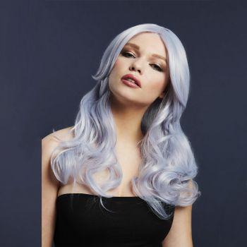Longhair Wig NICOLE - Silver Lilac*