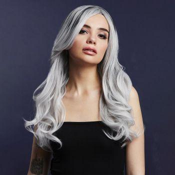 Longhair Wig KHLOE - Ice Silver*