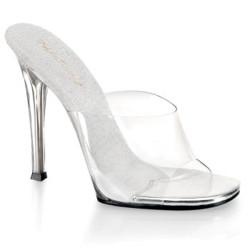 Mules GALA-01 - White/Clear*