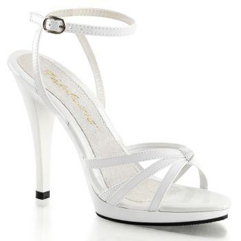 High-Heeled Sandal FLAIR-436 - Patent White*