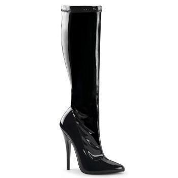 Extreme High Heels DOMINA-2000 : Patent Black*