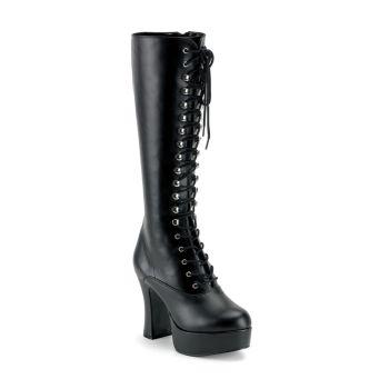 Knee Boot EXOTICA-2020 : PU Black*
