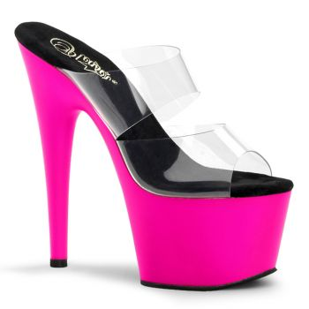 Plateau High Heels ADORE-702UV - Neon Pink