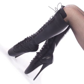 Fetish Boots BALLET-2020 - Leather Black