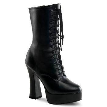 Platform ankle boots ELECTRA-1020 - PU Black