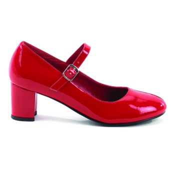 Mary Janes SCHOOLGIRL-50 - Patent Red
