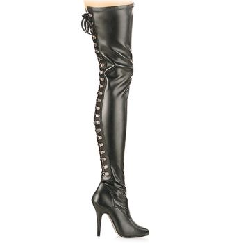 Overknee Boot SEDUCE-3063 - PU Black
