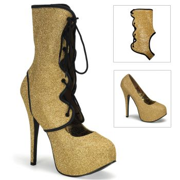 Platform Pumps TEEZE-31G - Gold*