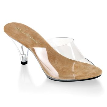 Sandal BELLE-301 - Clear/Tan