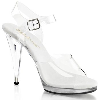 Sandal FLAIR-408 - Clear/White