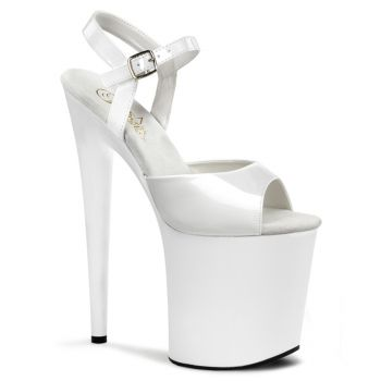 Extreme Platform Heels FLAMINGO-809 - White
