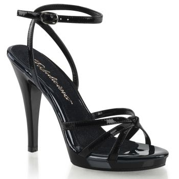 High-Heeled Sandal FLAIR-436 - Patent Black*