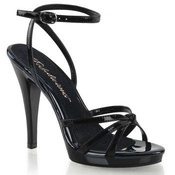 High-Heeled Sandal FLAIR-436 - Patent Black*