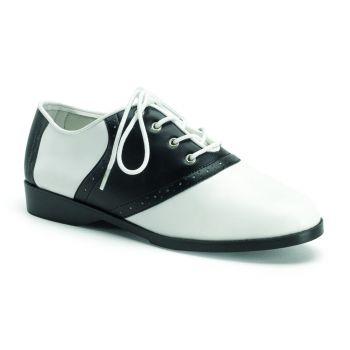 Saddle Shoes SADDLE-50 - Black/White*