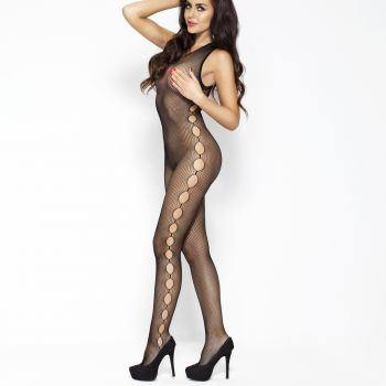 Sleeveless Bodystocking BS003 - Black*