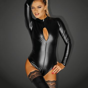 Power Wet Look Body MONARCH - Black