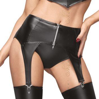 Wet Look Garter Belt F166