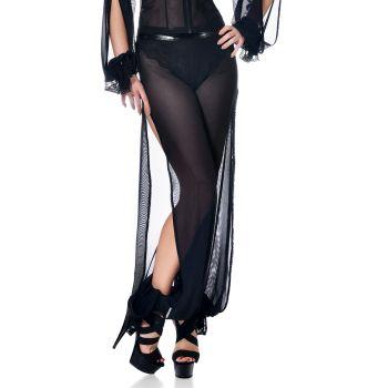 Transparent Mesh Pants GEORGIA - Black